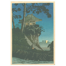 Takahashi Hiroaki: Temple in the Night - Artelino