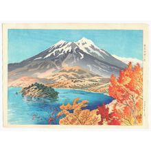 Ito Shinsui: Autumn by Lake Mojiri - Ten Sights of Shinano - Artelino