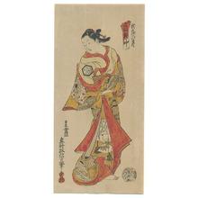 Okumura Masanobu: Onagata (Fake Print) - Artelino