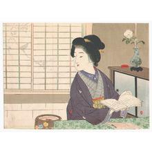Suzuki Kason: Silhouette (Kuchi-e) - Artelino