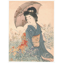 Suzuki Kason: Umbrella (Kuchi-e) - Artelino