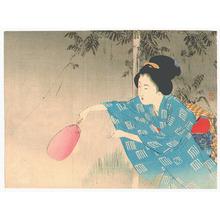 Takeuchi Keishu: Fireflies (Kuchi-e) - Artelino