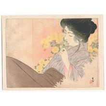 梶田半古: Flowers (Kuchi-e) - Artelino