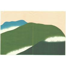 神坂雪佳: Green Mountains - Momoyo Gusa - Artelino