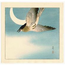 Ohara Koson: Cuckoo and the Moon - Artelino
