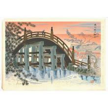 Tokuriki Tomikichiro: Sumiyoshi Shrine - Seichi Shiseki Meisho - Artelino