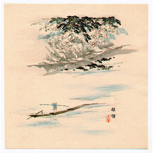幸野楳嶺: The River - Artelino