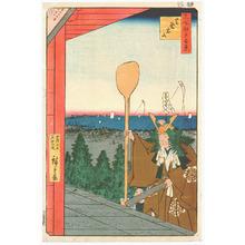 歌川広重: Shiba - Meisho Edo Hyakkei - Artelino