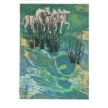 北岡文雄: Landscape with Horses - Uma no iru Fukei - Artelino