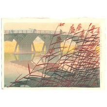 笠松紫浪: Imai Bridge - Artelino