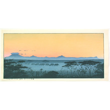 Yoshida Toshi: Morning Mist in East Africa (Limited Edition) - Artelino