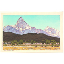 Yoshida Toshi: Sacred Mountain in Nepal (Limited Edition) - Artelino