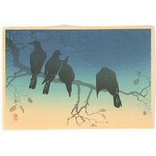Takahashi Hiroaki: Crows (Muller Collection) - Artelino