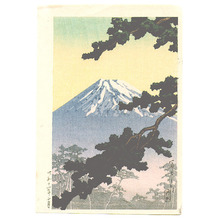 Kawase Hasui: Mt. Fuji (Muller Collection) - Artelino