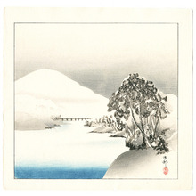 Ohara Koson: Snowy Landscape (Muller Collection) - Artelino