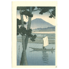 Kawase Hasui: Boat (small print) - Artelino