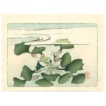 Shibata Zeshin: Water Plant - Hana Kurabe - Artelino