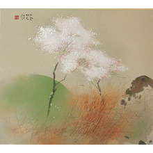 Takeuchi Seiho: Blossoming Tree (Muller Collection) - Artelino