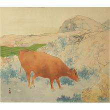 Takeuchi Seiho: Grazing Cow (Muller Collection) - Artelino