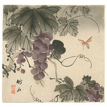 Nagamachi Chikuseki: Grape and Wasp (Muller Collection) - Artelino