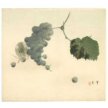 Watanabe Seitei: Mouse and Grapes (Muller Collection) - Artelino