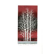 北岡文雄: White Trees b. (Limited Edition) - Artelino