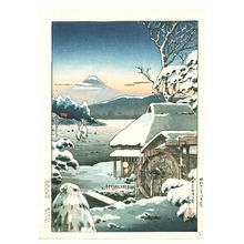 Tsuchiya Koitsu: Mt. Fuji from Yaizugahara - Artelino