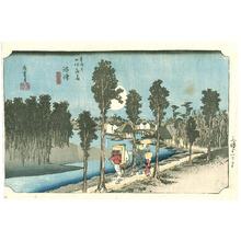 歌川広重: Numazu - Tokaido Gojusan Tsugi no Uchi (Hoeido) - Artelino