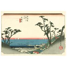 歌川広重: Shirasuka - Tokaido Goju-san Tsugi no Uchi (Hoeido) - Artelino