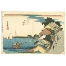 歌川広重: Kanagawa - Tokaido Goju-san Tsugi no Uchi - Artelino