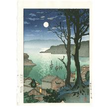 Tsuchiya Koitsu: Port Maizuru and key-block print - Artelino