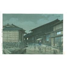 川瀬巴水: Tokaido Nissaka - Artelino