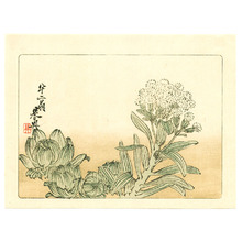 柴田是眞: Flowering Plant - Hana Kurabe (First Edition) - Artelino