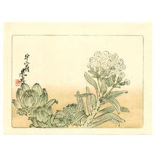 Shibata Zeshin: Flowering Plant - Hana Kurabe (First Edition) - Artelino