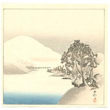 Ohara Koson: Snowy Landscape - Artelino