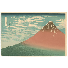 Katsushika Hokusai: Red Fuji (Muller Collection) - Artelino
