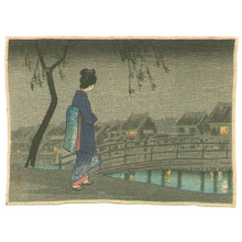 高橋弘明: Lady in the Night (small crepe print) - Artelino