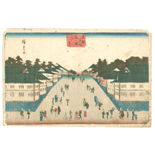 Utagawa Hiroshige: Kasumigaseki - Toto Meisho - Artelino