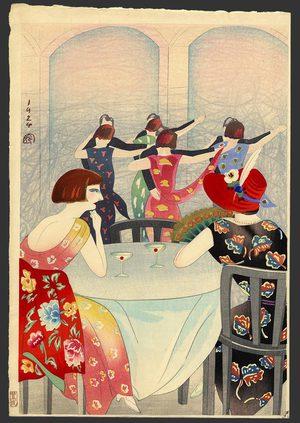 Toyonari: Dancing at the New Carlton Hotel in Shanghai - The Art of Japan