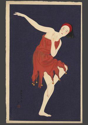 朝井清: Western style dancing - The Art of Japan