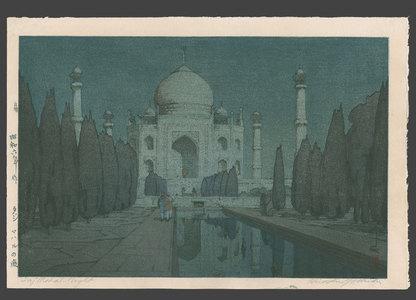 無款: Taj Mahal - night - The Art of Japan