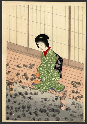 Komura Settai: Shadow of a Cherry Tree - The Art of Japan