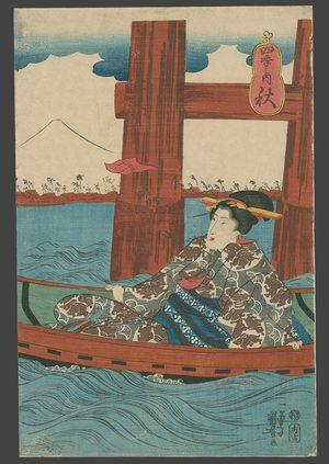 Utagawa Kuniyoshi: Autumn - The Art of Japan