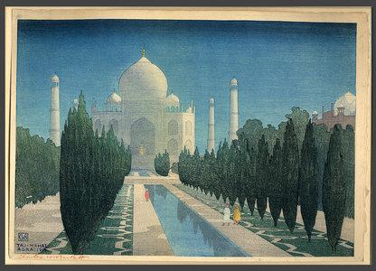 Charles Bartlett: Taj Mahal by Moonlight - The Art of Japan