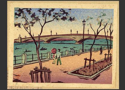 Fukazawa Sakuichi: #62 Kototoi Bridge - The Art of Japan
