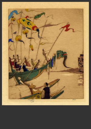 Dorsey Potter Tyson: Dragon Boat Festival 44/100 - The Art of Japan