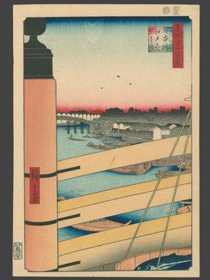 Utagawa Hiroshige: Nihonbashi and Edobashi - The Art of Japan