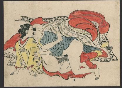 奥村政信: #7 of 11 Lovers (To be sold as a set) - The Art of Japan