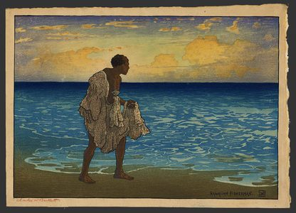 Charles Bartlett: Hawaiian Fisherman - The Art of Japan