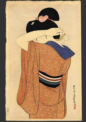 Ito Shinsui: Long undergarment (Nagajuban) - The Art of Japan